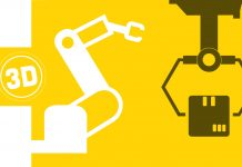 3D Printed Robot Fuses Additive and Smart Manufacturing